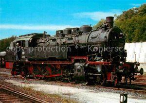 AK / Ansichtskarte Lokomotive Tenderlokomotive 93985 Deutsche Bundesbahn  Kat. Eisenbahn
