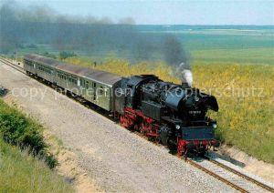 AK / Ansichtskarte Lokomotive Personenzug Tenderlokomotive 651049 9 Deutsche Reichsbahn  Kat. Eisenbahn