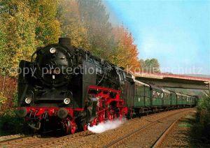 AK / Ansichtskarte Lokomotive Personenzug Tenderlokomotive 62015 Deutsche Reichsbahn  Kat. Eisenbahn