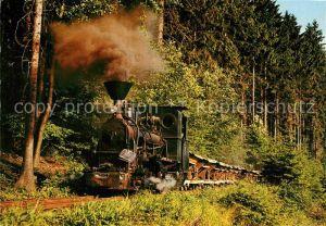 AK / Ansichtskarte Lokomotive Stuetztenderlokomotive 600 Lok Nr. 1 Industriebahn Mladejov Hrebec Kat. Eisenbahn