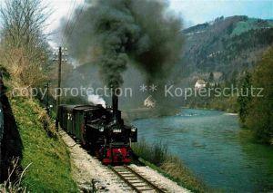 AK / Ansichtskarte Lokomotive Lok Nr. 29852 Zug Nr. 3665 Groissenbach Haunoldmuehle Kat. Eisenbahn