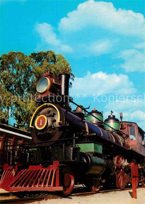 AK / Ansichtskarte Lokomotive Western Pacific Eisenbahn 1864 Kat. Eisenbahn