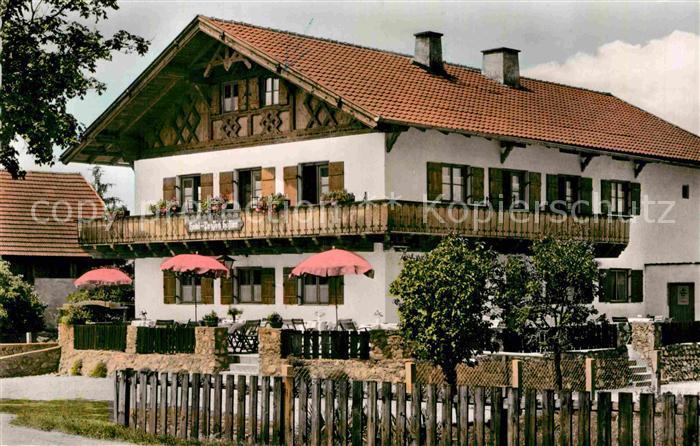 AK / Ansichtskarte Schwangau Hotel Pension Hafner Kat. Schwangau