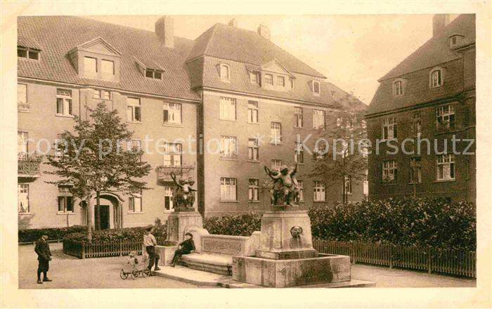 AK / Ansichtskarte Holsterhausen Essen Friedrich Krupp AG Kolonie Alfredshof  Kat. Essen