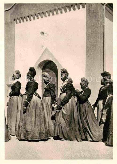 AK / Ansichtskarte Typen Afrika Herero Frauen