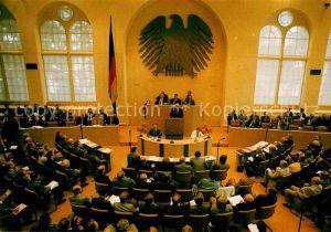 AK / Ansichtskarte Politik Plenarsaal Deutscher Bundestag Alter Wasserwerk Bonn  Kat. Politik