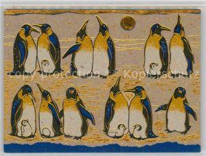 AK / Ansichtskarte Pinguin Penguin Meeting  Kat. Tiere