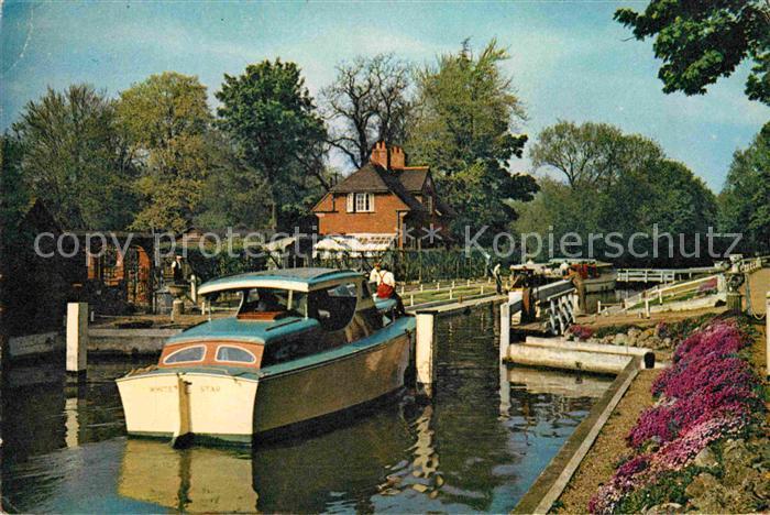 AK / Ansichtskarte Sonning Sonning Lock Schleuse Kat. Wokingham