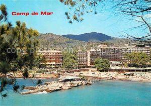 AK / Ansichtskarte Camp de Mar Hotels Strand Kat. Andratx Mallorca