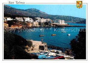 AK / Ansichtskarte San Telmo Andraitx Panorama Bucht Kueste Kat. Spanien