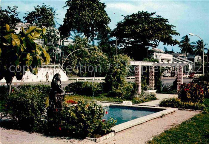 AK / Ansichtskarte Libreville Jardin municipal Kat. Libreville