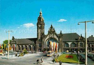 AK / Ansichtskarte Krefeld Hauptbahnhof Kat. Krefeld