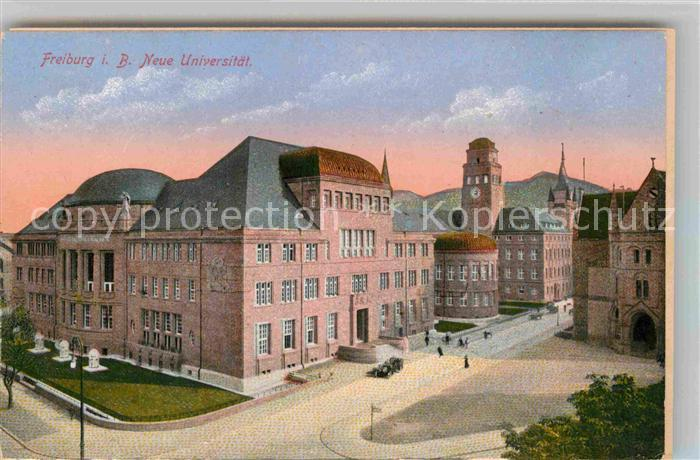 AK / Ansichtskarte Freiburg Breisgau Neue Universitaet Kat. Freiburg im Breisgau