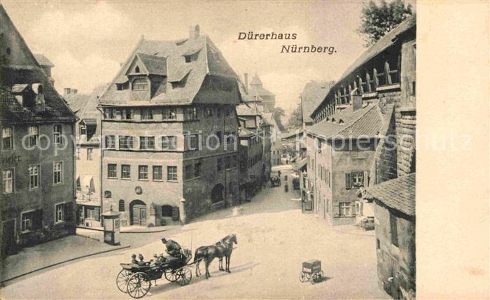 AK / Ansichtskarte Nuernberg Duererhaus Kat. Nuernberg
