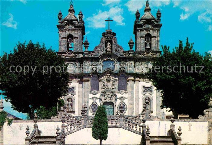 AK / Ansichtskarte Guimaraes Igreja da Costa Kirche Kat. Guimaraes