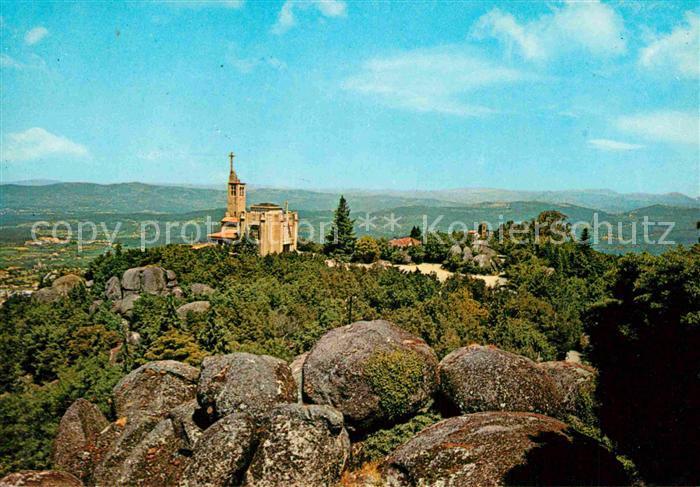 AK / Ansichtskarte Guimaraes Santuario da Penha Kloster Kat. Guimaraes