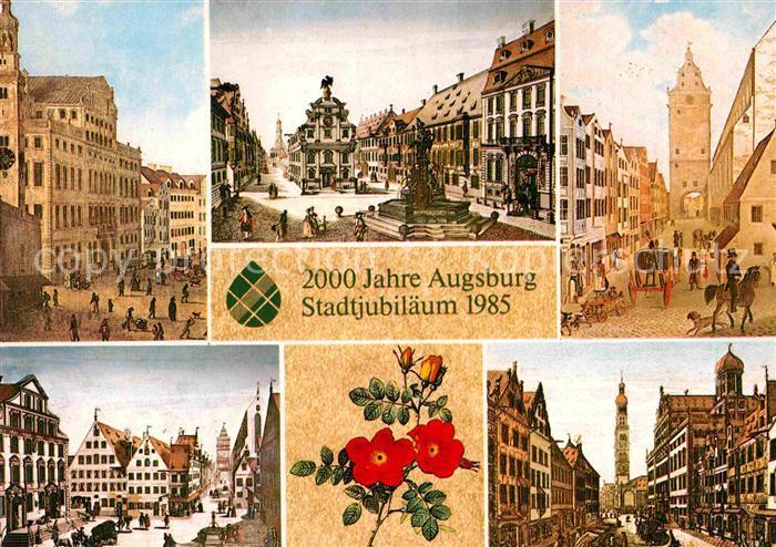AK / Ansichtskarte Augsburg 2000 Jahre Stadtjubilaeum 1985 Kat. Augsburg