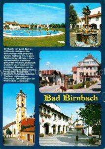 AK / Ansichtskarte Bad Birnbach Thermalbad Brunnen Ortsmotive Kirche Kat. Bad Birnbach