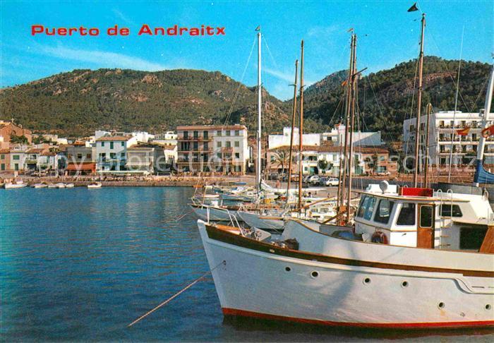 AK / Ansichtskarte Puerto de Andraitx Hafen Yachten
