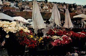 AK / Ansichtskarte Tananarive Fleurs du Zoma Kat. Madagaskar