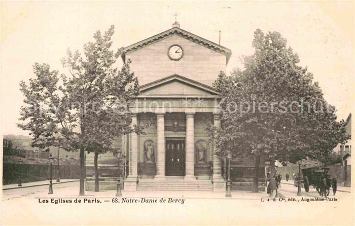 AK / Ansichtskarte Paris Eglise Notre Dame de Bercy Collection Les Eglises de Paris Kat. Paris