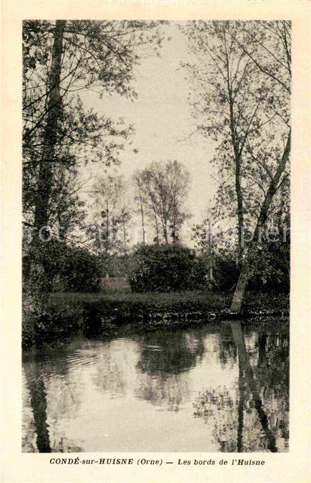 AK / Ansichtskarte Conde sur Huisne Les bords de l Huisne Kat. Conde sur Huisne