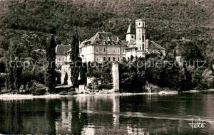 AK / Ansichtskarte Le Bourget du Lac Savoie Abbaye d Hautecombe vu du lac Kat. Le Bourget du Lac