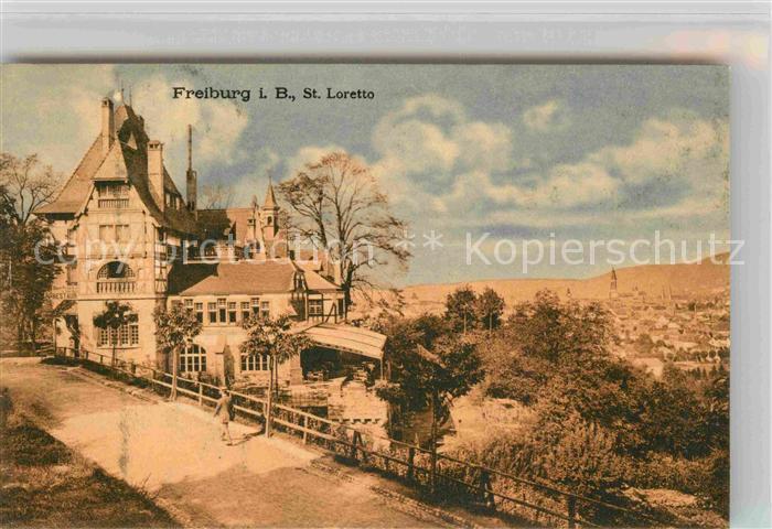 AK / Ansichtskarte Freiburg Breisgau St Loretto Kat. Freiburg im Breisgau