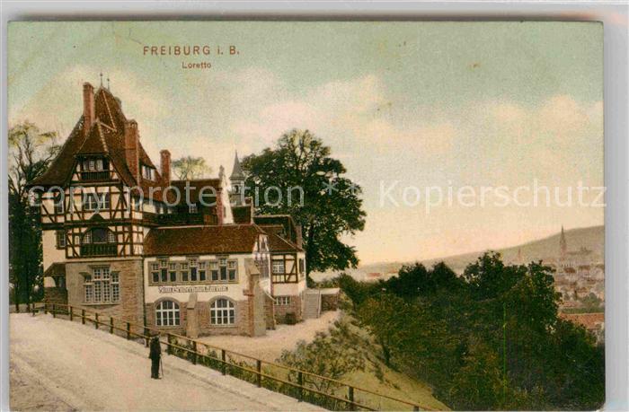AK / Ansichtskarte Freiburg Breisgau Loretto  Kat. Freiburg im Breisgau