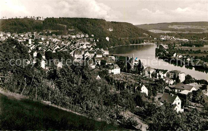 AK / Ansichtskarte Waldshut Tiengen Panorama am Hochrhein