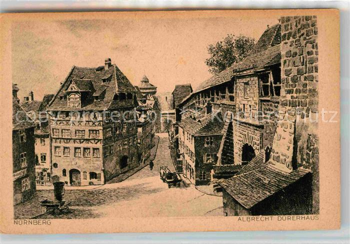 AK / Ansichtskarte Nuernberg Albrecht Duerer Haus Kat. Nuernberg