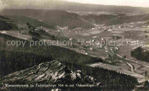 AK / Ansichtskarte Warmensteinach Panorama Ochsenkopf Kat. Warmensteinach Fichtelgebirge