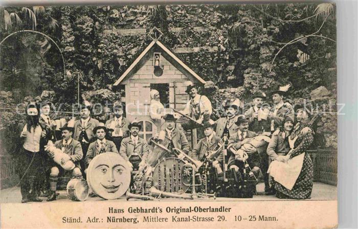 AK / Ansichtskarte Nuernberg Hans Gebad s Original Oberlandler Kat. Nuernberg