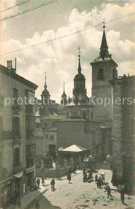 AK / Ansichtskarte Madrid Spain Iglesia de San Sebastian Kat. Madrid