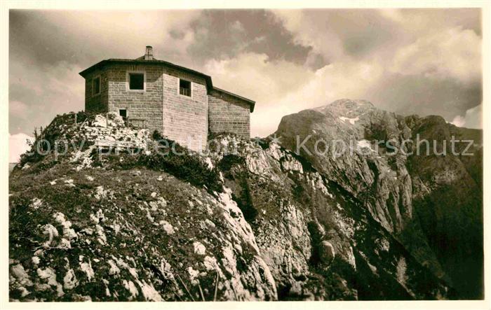 AK / Ansichtskarte Berchtesgaden Eagles Nest am Kehlstein Berchtesgadener Alpen Kat. Berchtesgaden