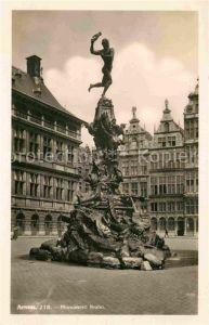 AK / Ansichtskarte Anvers Antwerpen Monument Brabo Kat.