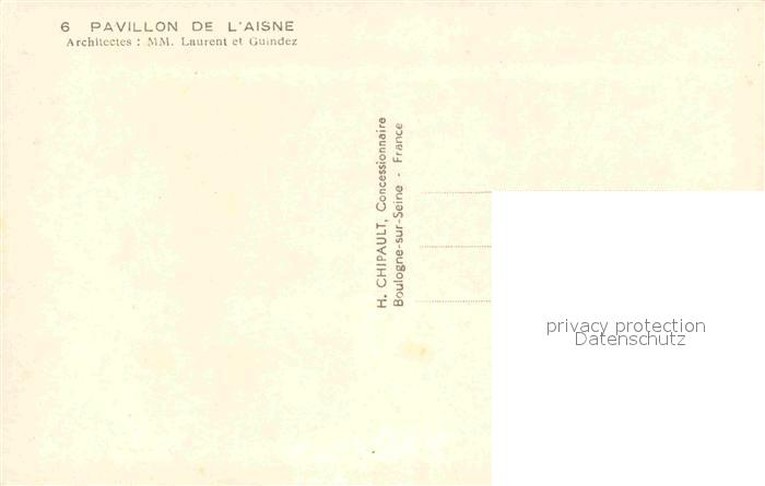 AK / Ansichtskarte Roubaix Pavillon de l Aisne Exposition du Progres Social Kat. Roubaix 1