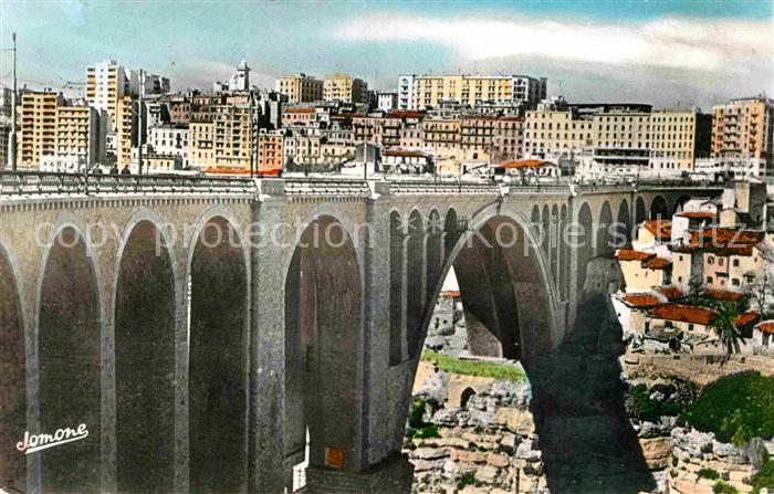 AK / Ansichtskarte Constantine La Ville et le Pont Sidi Rached Kat. Algerien
