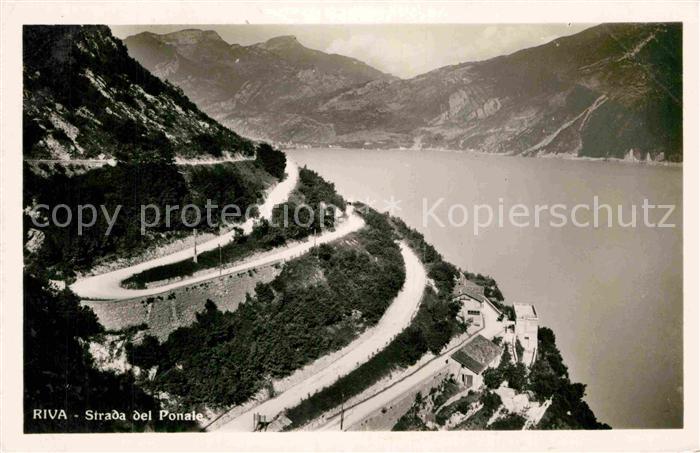 AK / Ansichtskarte Riva Lago di Garda Strada del Ponale Gardasee Kat.