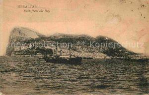 AK / Ansichtskarte Gibraltar Rock from the Bay Kat. Gibraltar