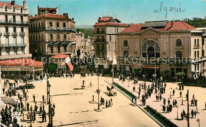 AK / Ansichtskarte Constantine Place Marechal Leclerc La Breche Kat. Algerien