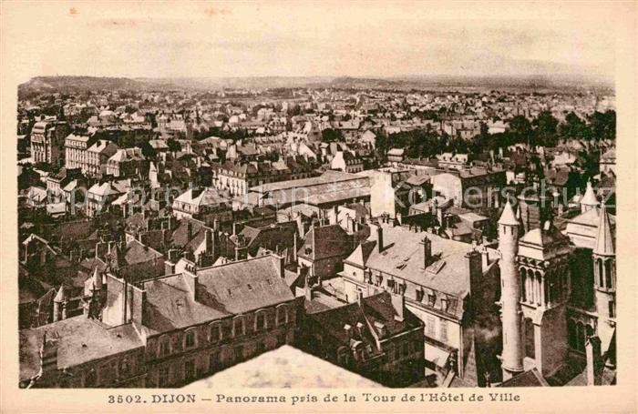 AK / Ansichtskarte Dijon Cote d Or Panorama pris de la Tour de l Hotel de Ville Kat. Dijon