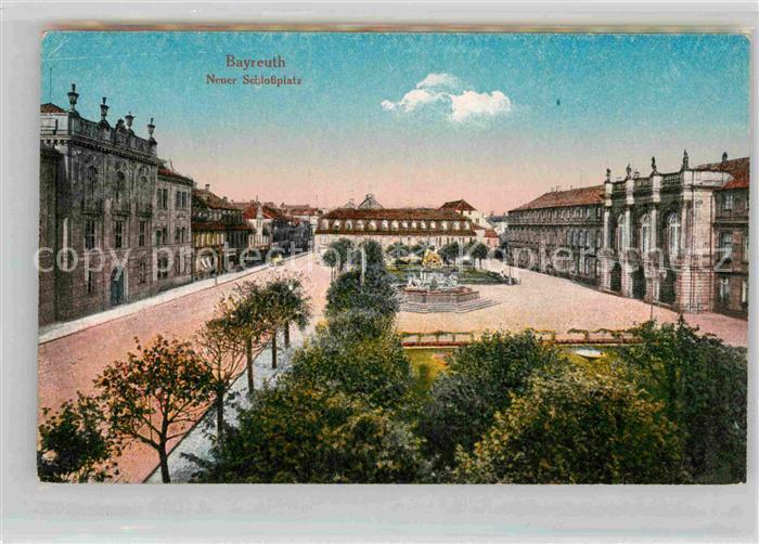 AK / Ansichtskarte Bayreuth Neuer Schlossplatz Kat. Bayreuth