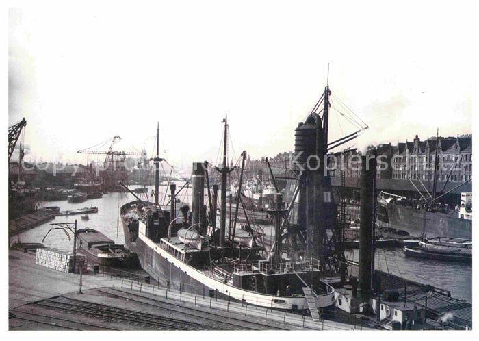 AK / Ansichtskarte Hamburg Hamburger Hafen Sandtorhafen Kat. Hamburg