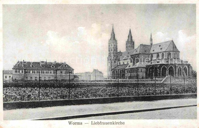 AK / Ansichtskarte Worms Rhein Liebfrauenkirche Kat. Worms