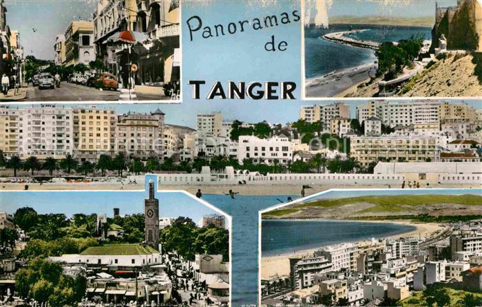AK / Ansichtskarte Tanger Tangier Tangiers Panoramas de Tanger Kat. Marokko