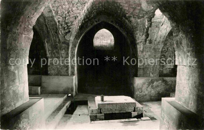 AK / Ansichtskarte Abu Gosh Crypte batie par les Croises sur reservoir de la Xe Legion Romaine