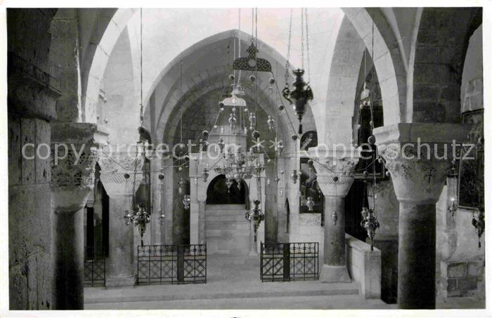 AK / Ansichtskarte Jerusalem Yerushalayim Chapel of St Helena Kat. Israel