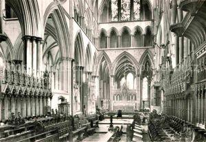 AK / Ansichtskarte Salisbury The Choir Salisbury Cathedral Kat. Salisbury