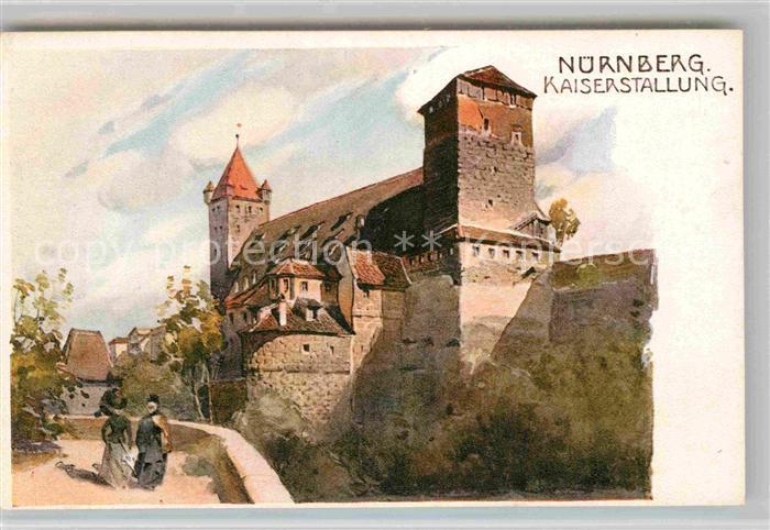 AK / Ansichtskarte Nuernberg Kaiserstallung Kat. Nuernberg